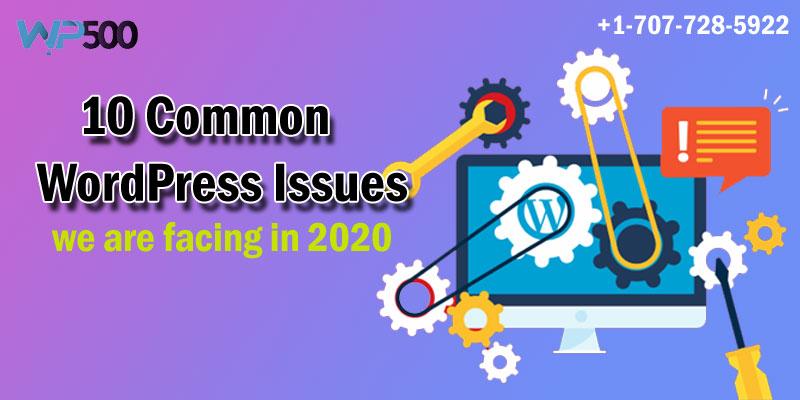 Top 10 Common WordPress Issues