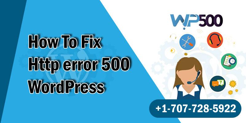 Http Error 500 WordPress