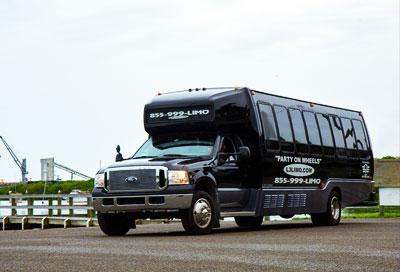 hire 25 passenger party bus