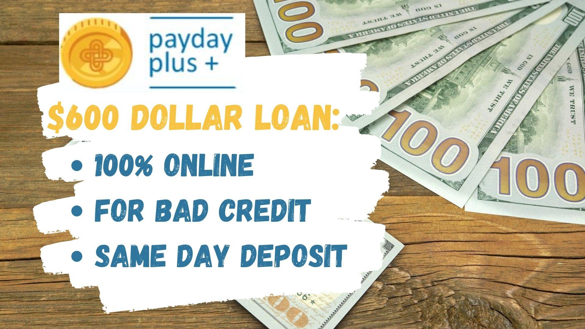 600 Dollar Loan Same Day