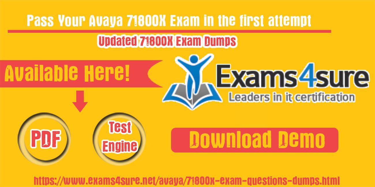 71800X-Exam-Dumps