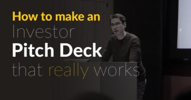 9 Key Areas To Cover While Creating An Investor Pitch Deck