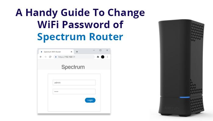 change Spectrum WiFi password