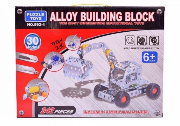 Alloy building block
