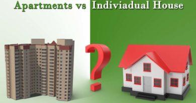 Apartmentsv/sIndependentHouses