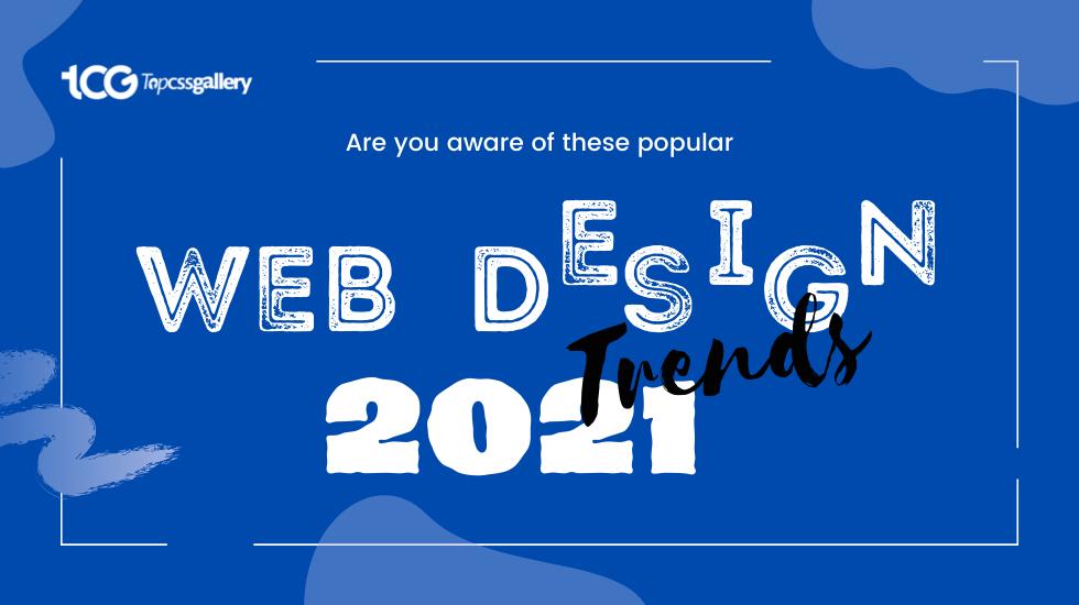 web designing trends of 2021