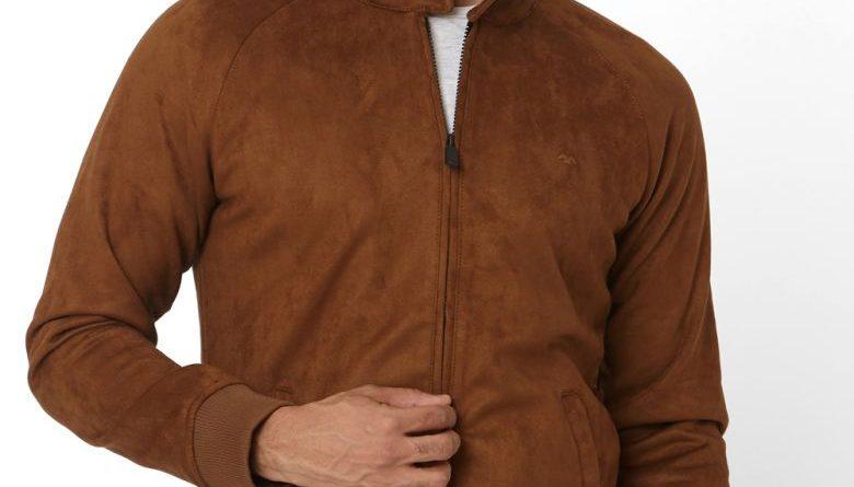 Authentic Harrington Jacket In Suede