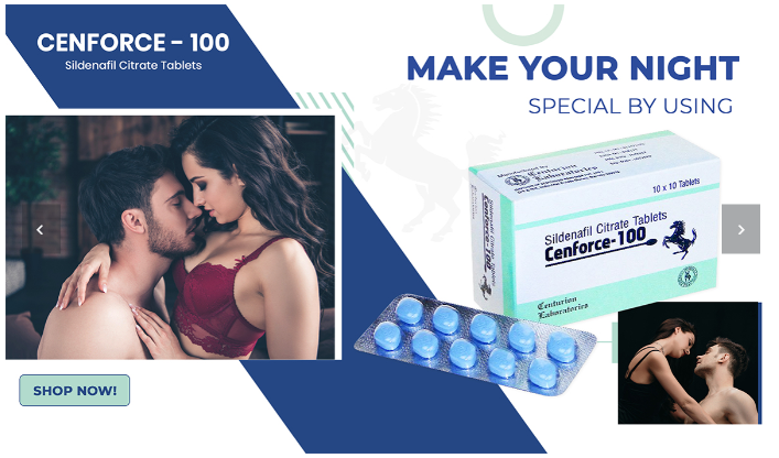 Cure Ed by Cenforce 100 mg Pills - Ed Generic Store