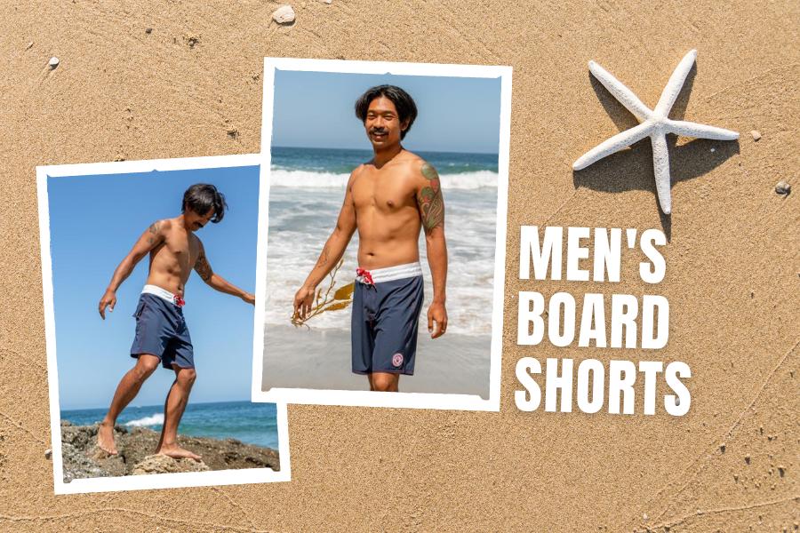 Classy beach looks mens board shorts