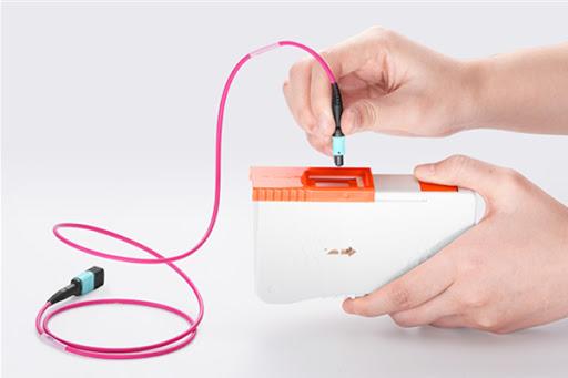 Clean Fiber Optic Connectors
