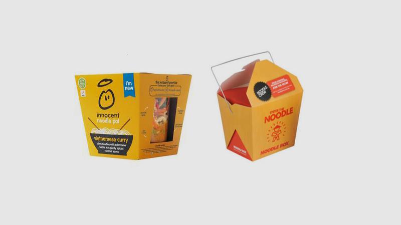 Custom noodles boxes