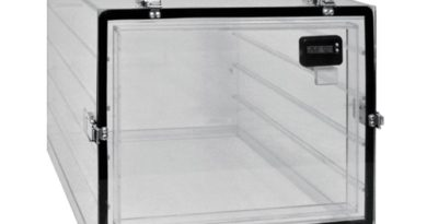 Plastic single chamber Desiccator cabinets