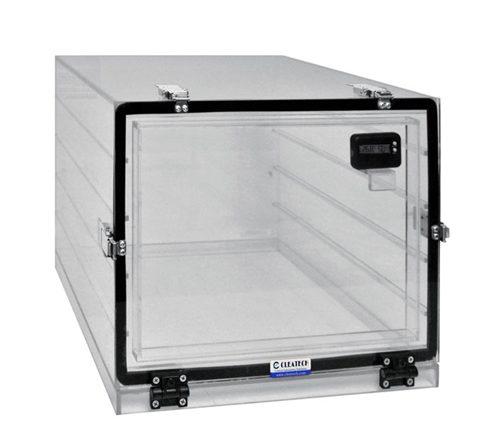 Plastic single chamber Desiccator cabinets