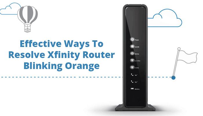 Xfinity modem reset