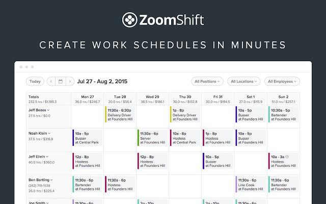 Employee Scheduling