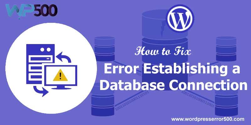 establishing a database connection
