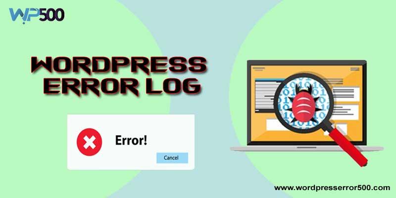wordpress error log