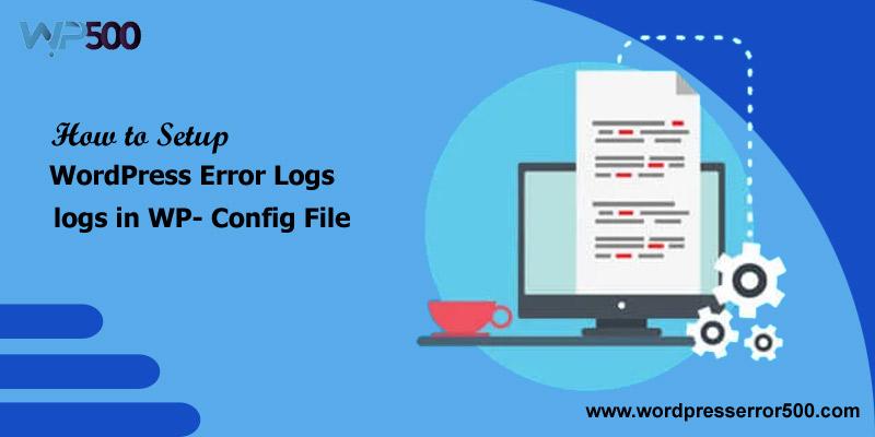 WordPress error logs
