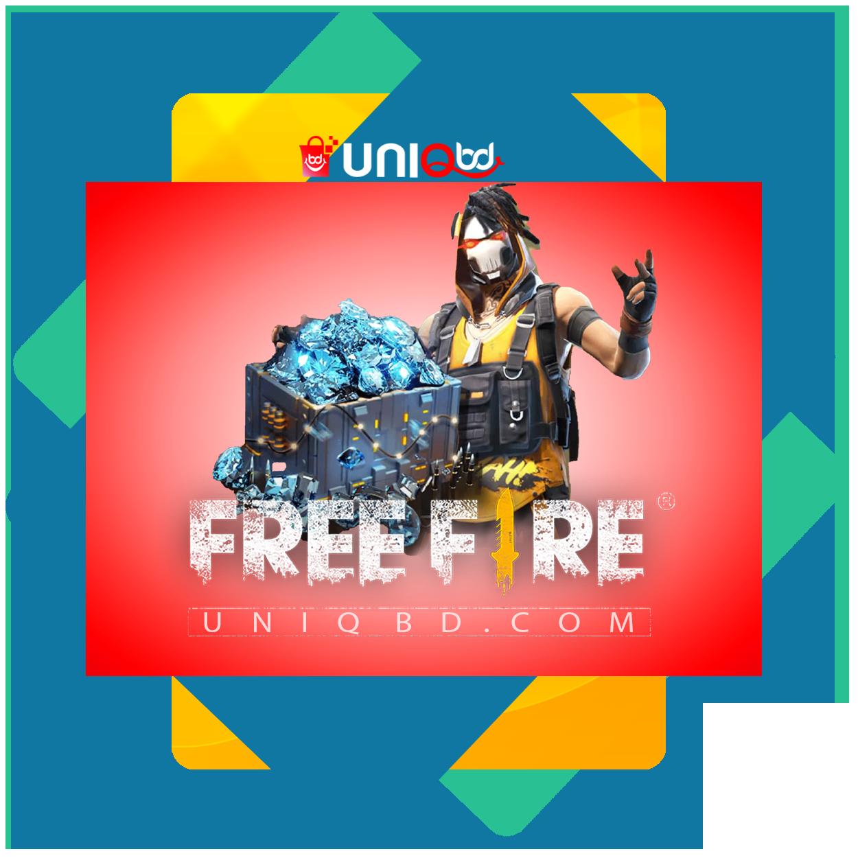 Uniqbd free fire diamonds