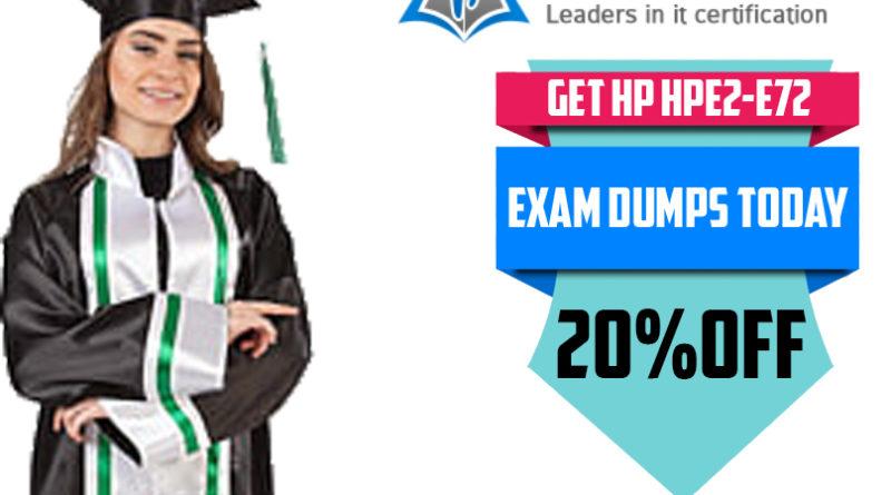 HPE2-E72-Exam-Dumps