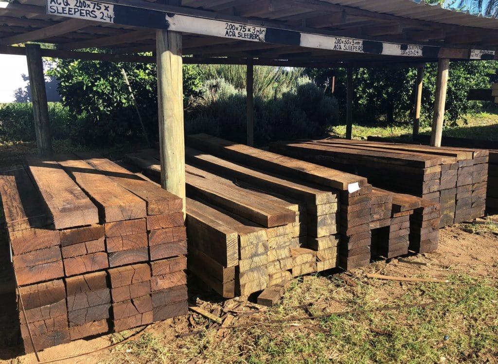 Hardwood Timber Sleeper Suppliers On The Sunshine Coast