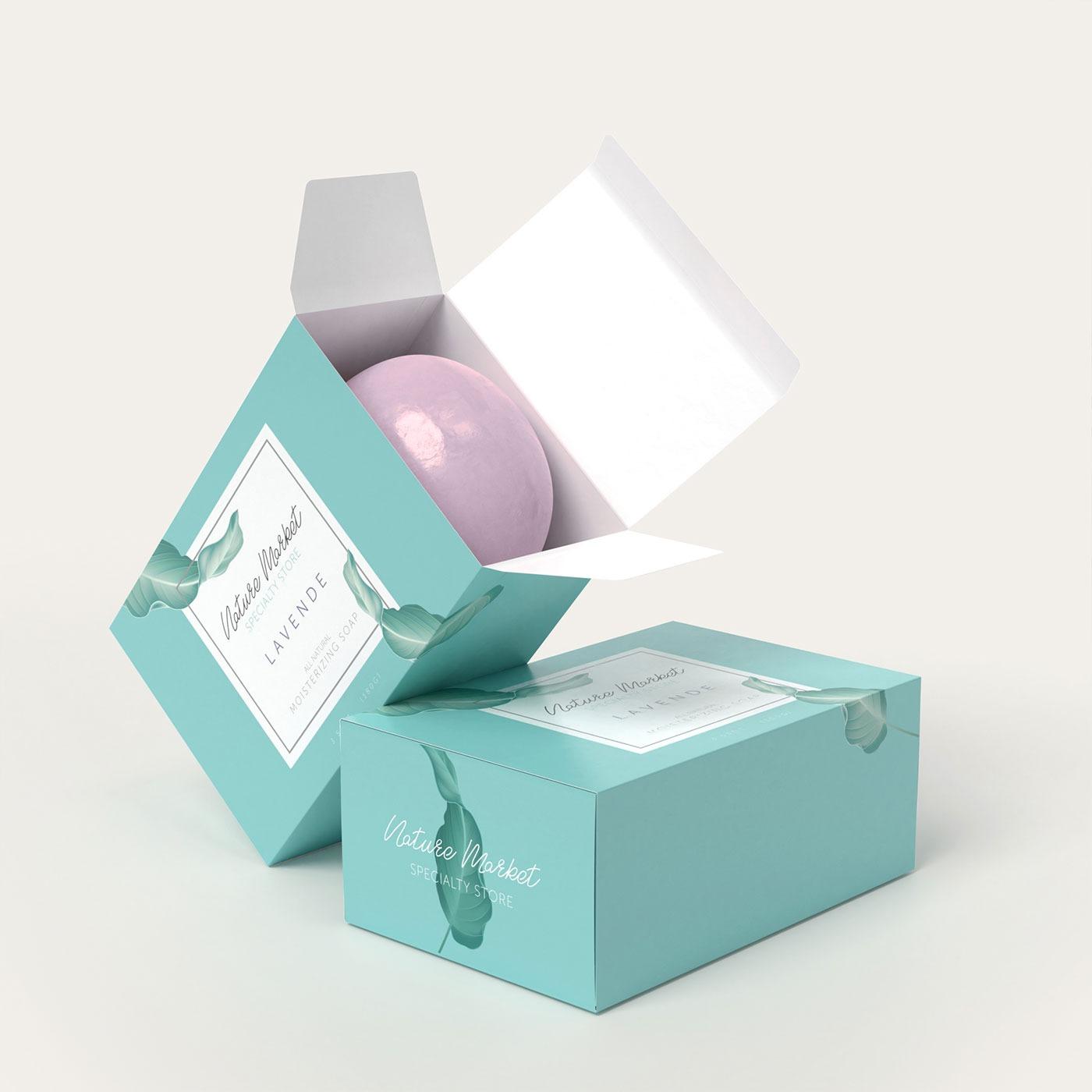 Custom Handmade Soap Packaging