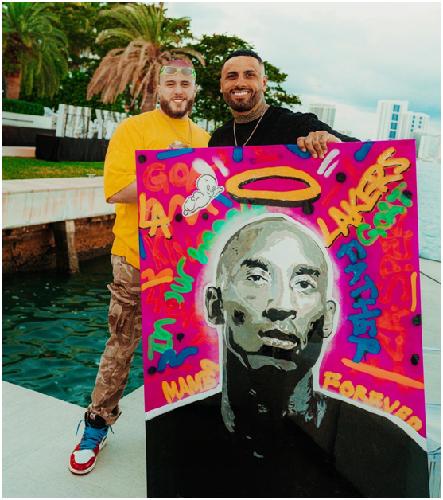 American street artist Cesar Suarez