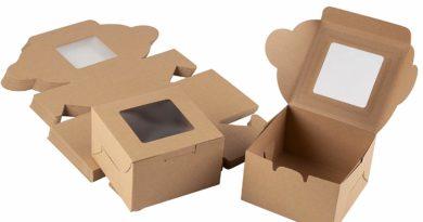 Kraft Window Boxes