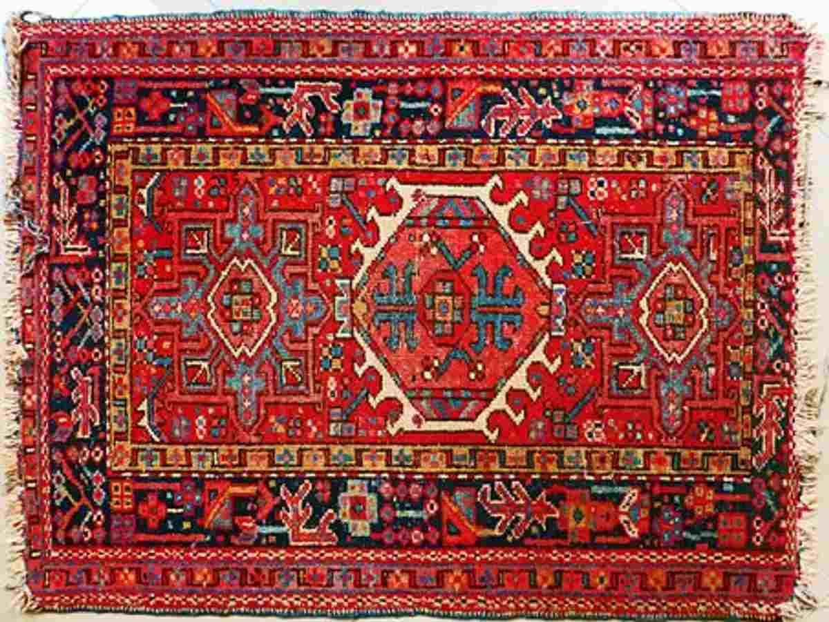 Machine-made Persian rug
