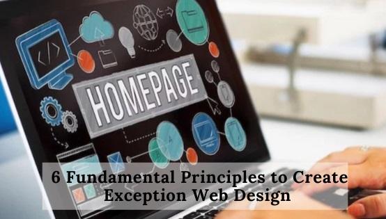 Principles to Create Exception Web Design