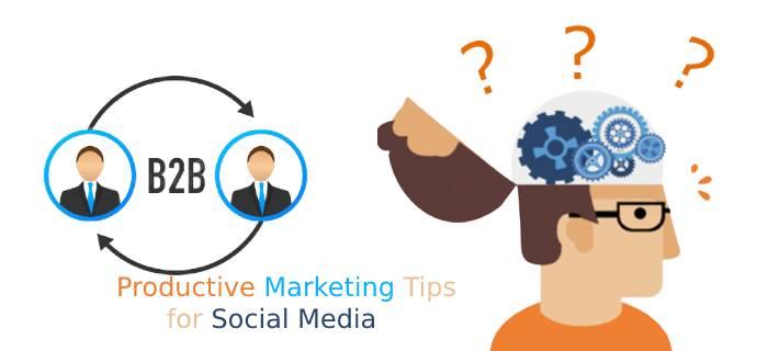b2b socila media marketing