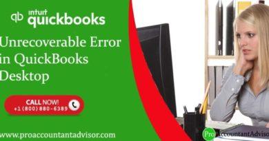 Resolve QuickBooks Unrecoverable Error Using Simple Methods - Featured Image