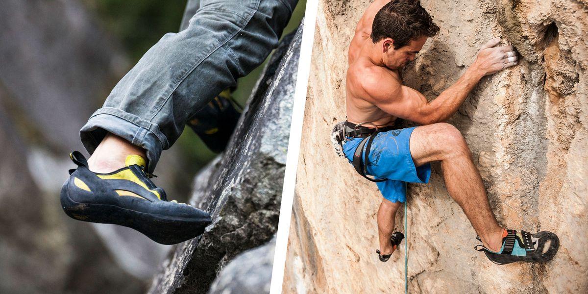Resole climbing shoes