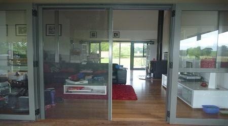 Roll-Away Retractable Screen Doors