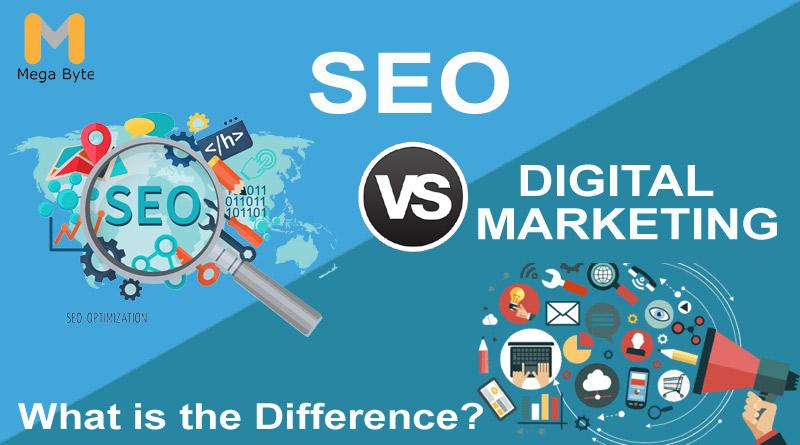 SEO vs Digital Marketing