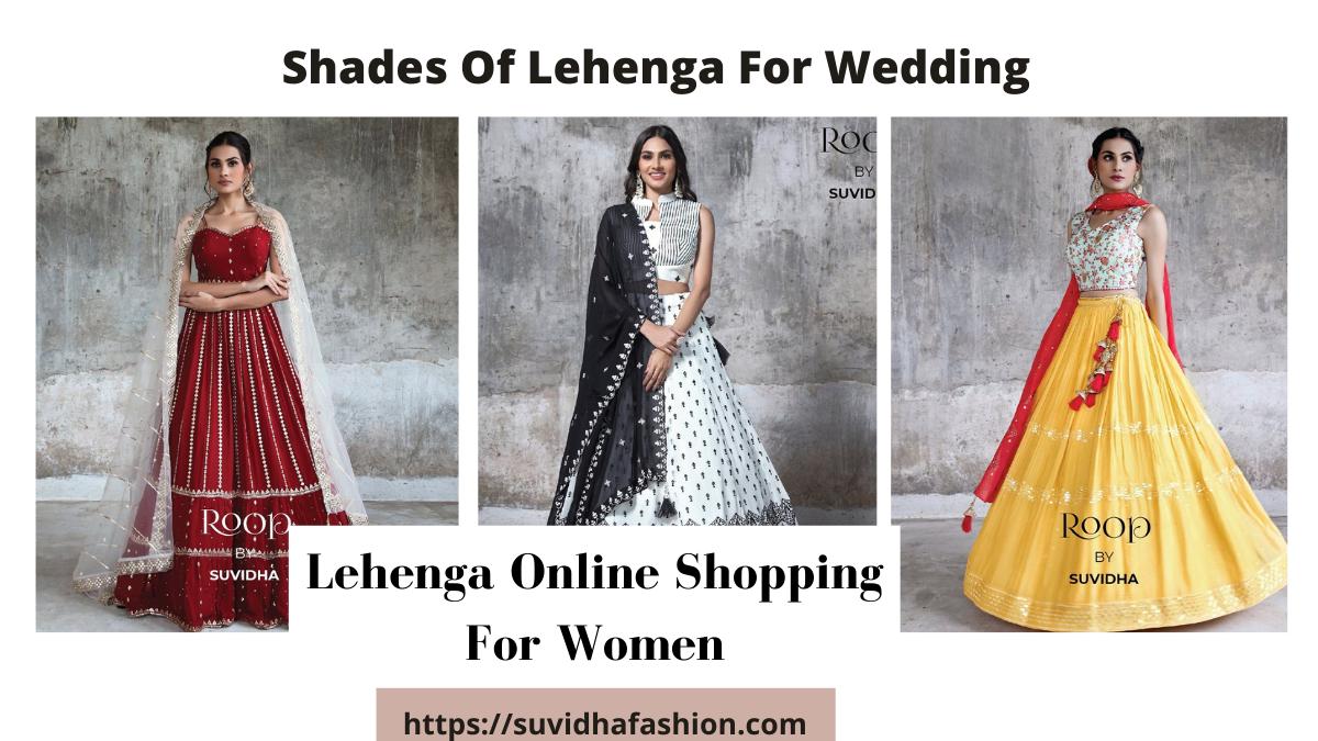 Lehenga online shoppig
