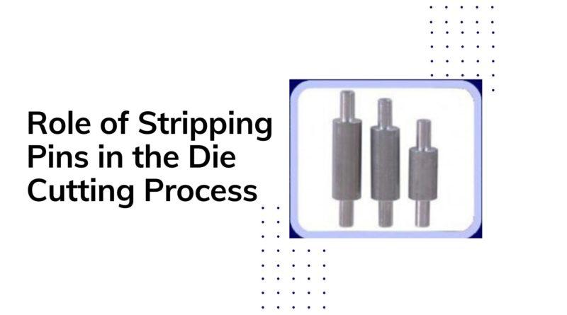 stripping pins for die cutting