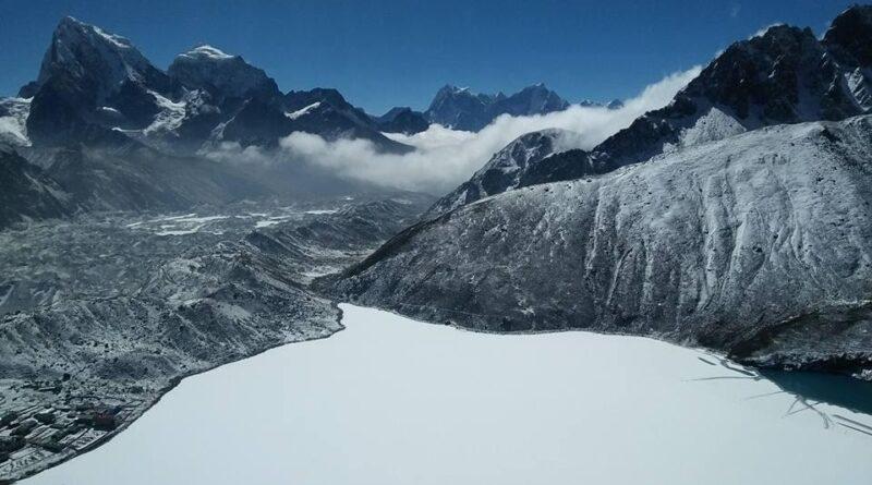 The Gokyo Lake become a Sherpa Land