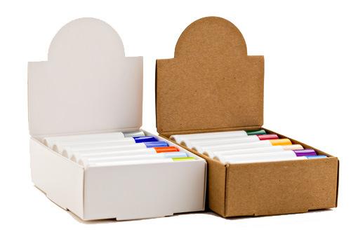 Use Custom Lip Balm Counter Display Boxes