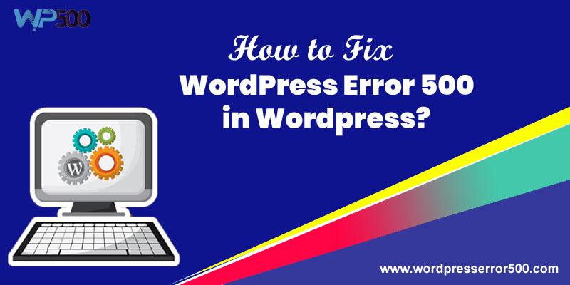 wordpress error 500