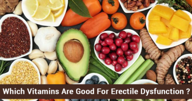 Which vitamins are good for erectile dysfunction