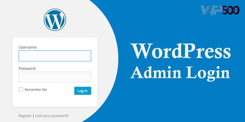 WordPress-admin-login