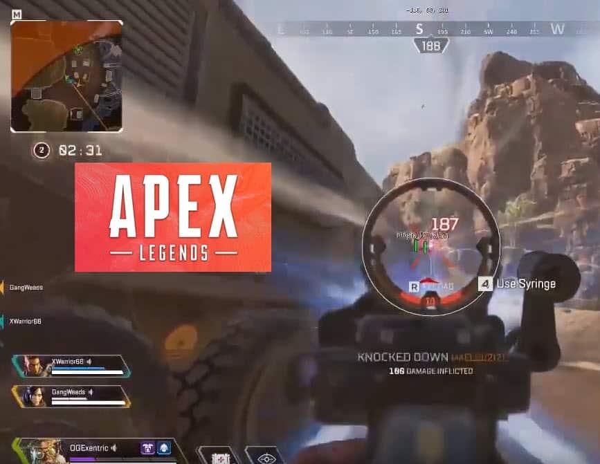 apex legends aimbot