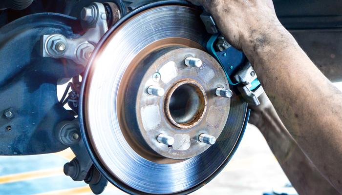 Check Brake Rotors