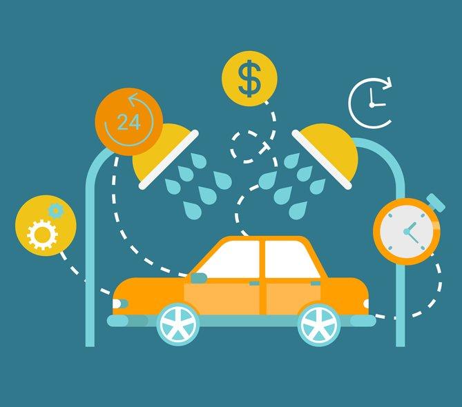 car wash on demand app