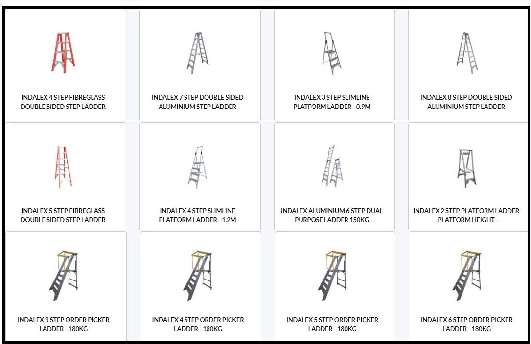 indalex ladders