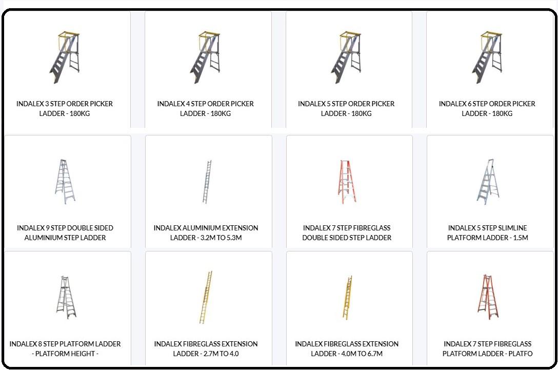 indalex platform ladders