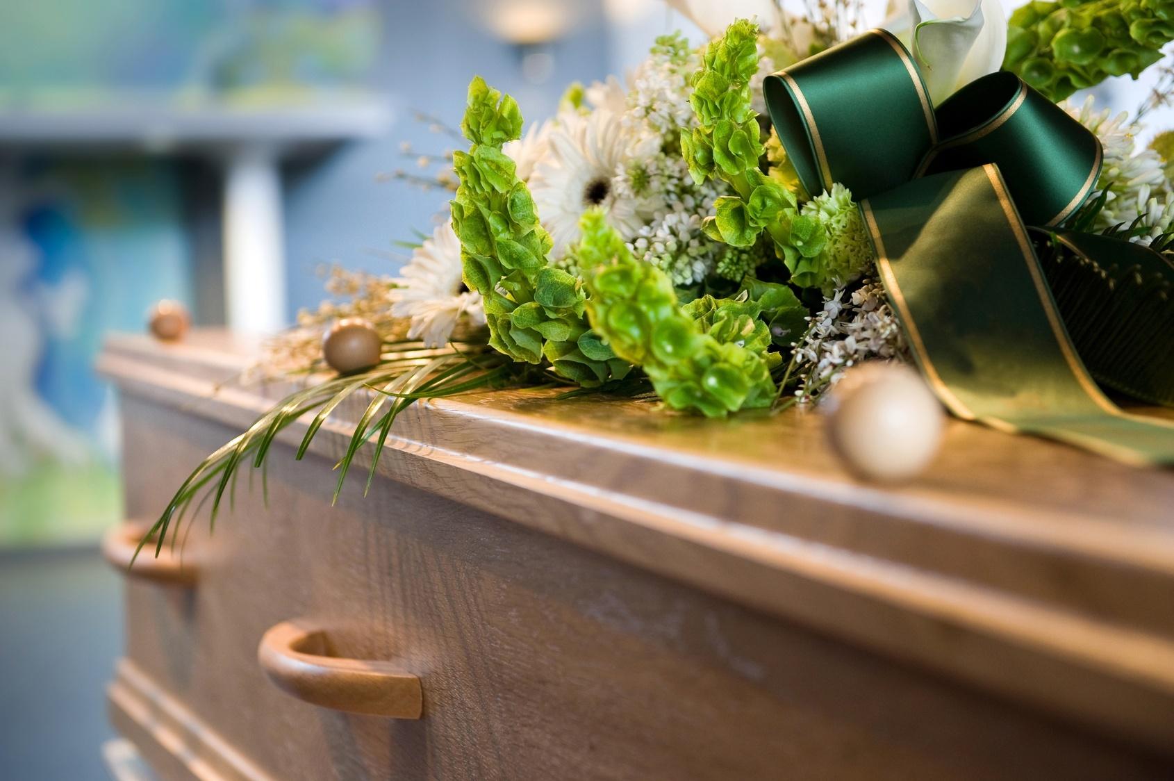 Pre-arranged funeral