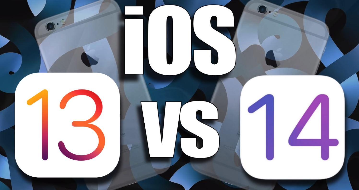 iOS 14 vs iOS 13