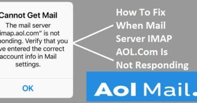 IMAP.Aol Not Responding